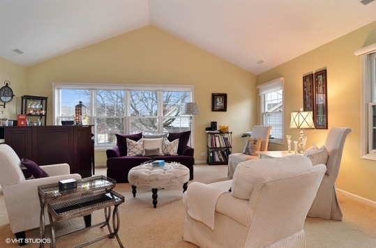 Harvard Living room after