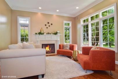 Vine living room after