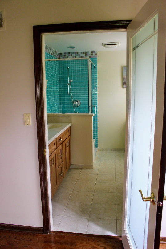 Lakewood master bathroom before 1